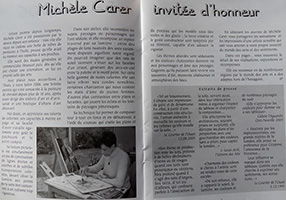 Michele CARER - Article de presse - Salon Thiais - 10/2006