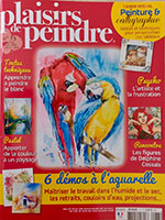 Michele CARER - Article de presse - Plaisirs de Peindre - n°73 - Nov2018-Fev2019